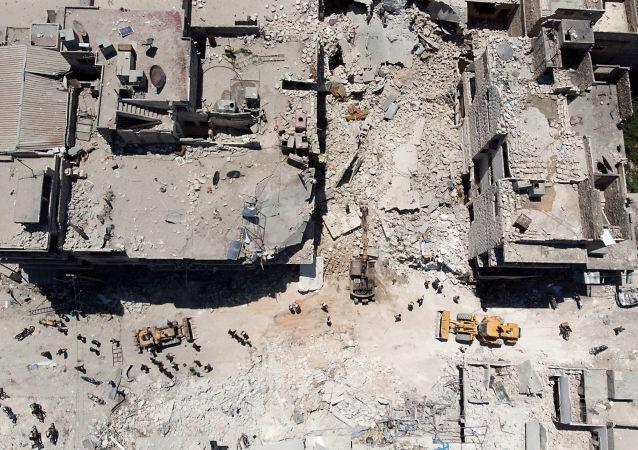 聯合國:敘利亞衝突十天內造成450多名平民喪生