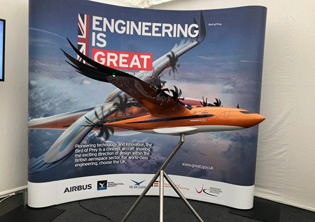 在英國皇家國際航空展上「空客」提出了新概念