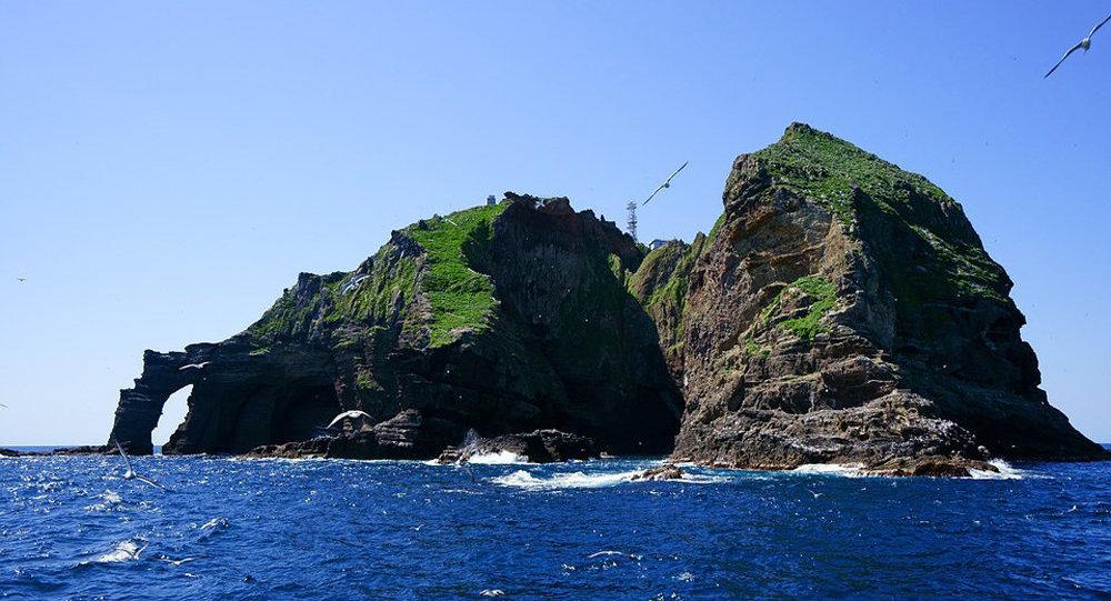 韓國外交部就獨島問題向日本提出抗議