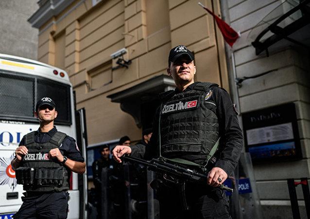 土耳其政府因俄駐土大使遭威脅保護俄使館