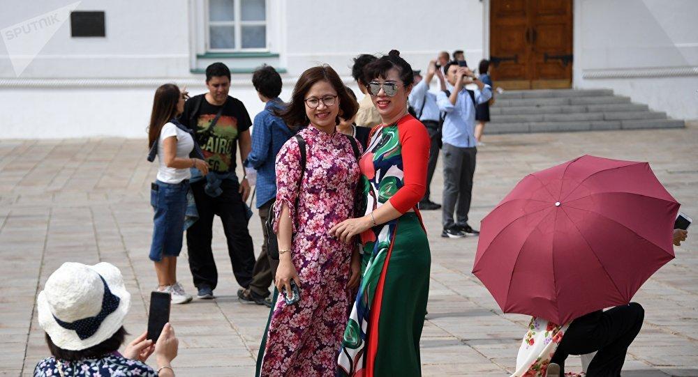 中國遊客,克里姆林宮