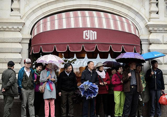 國家百貨商場(GUM)——很受中國遊客歡迎的購物場所