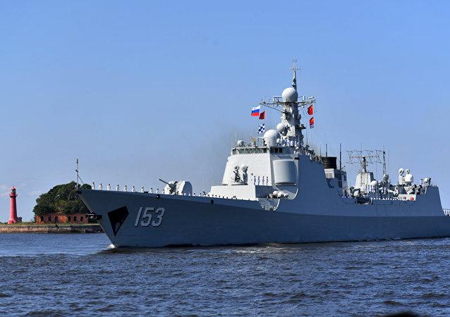 俄羅斯海軍節:外國夥伴參加閱兵