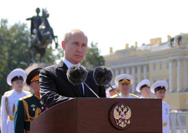 普京:俄羅斯軍隊能夠堅決有效地行動