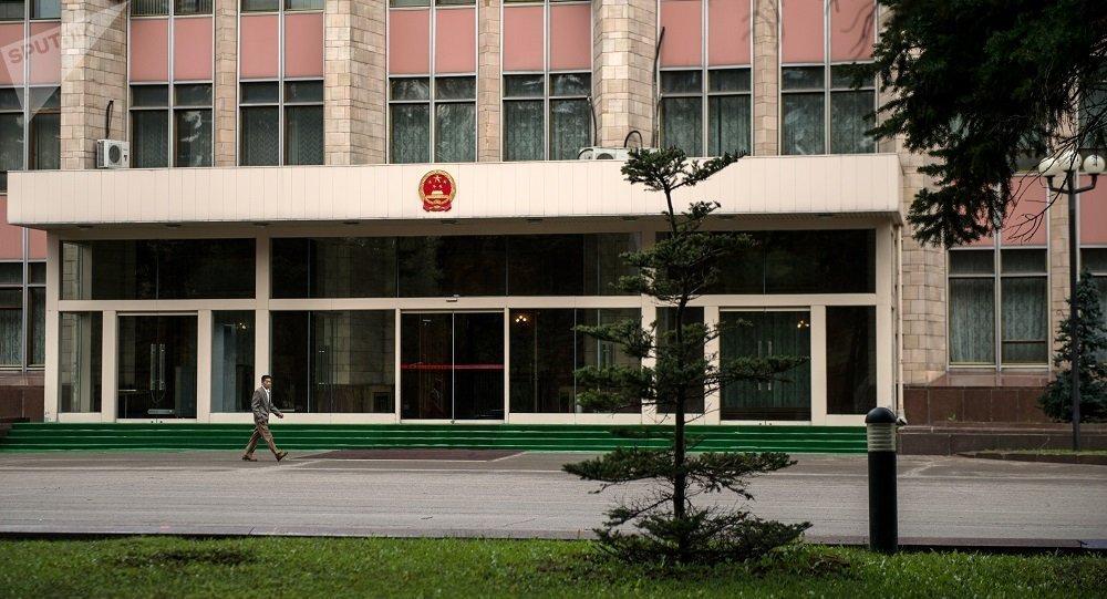 駐莫斯科中國大使館(資料圖片)