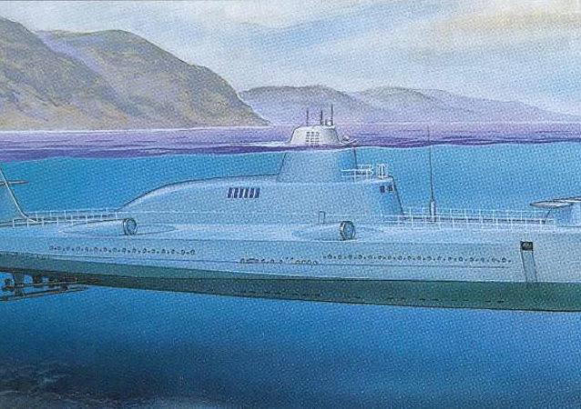 1231型海豚號導彈潛水艦
