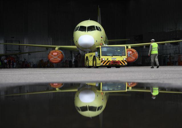 阿穆爾河畔共青城蘇霍伊超級100型客機生產