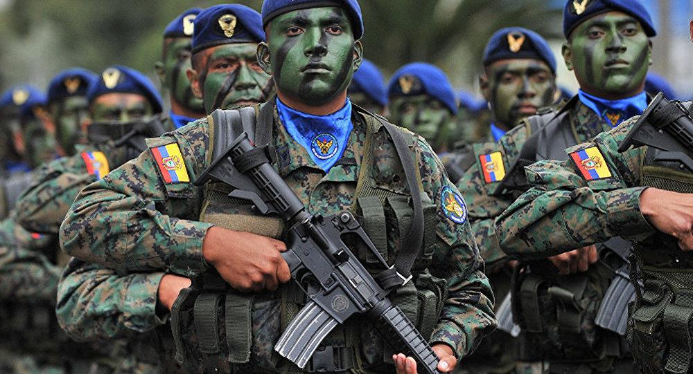 哥倫比亞軍人