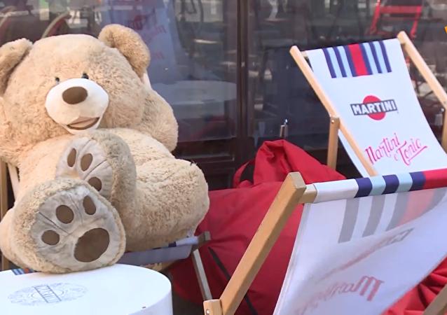 巴黎泰迪熊從冬眠中蘇醒