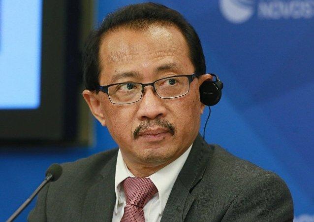 印度尼西亞駐俄羅斯大使蘇普里亞迪(資料圖片)