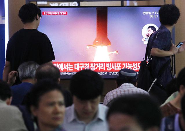 軍事專家評論朝鮮發射導彈