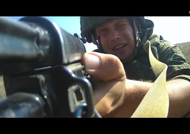 「海軍陸戰隊之星」接力之裡海區艦隊