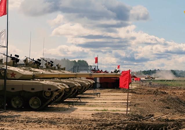 中國隊將在阿拉比諾訓練場檢驗96B坦克