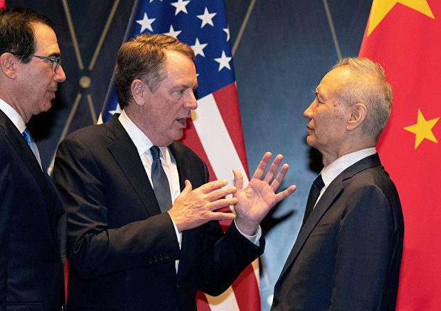 中美經貿高級別磋商雙方牽頭人