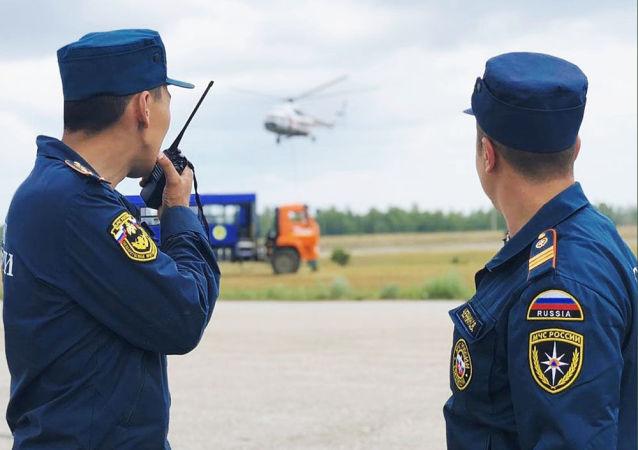 俄緊急救援人員