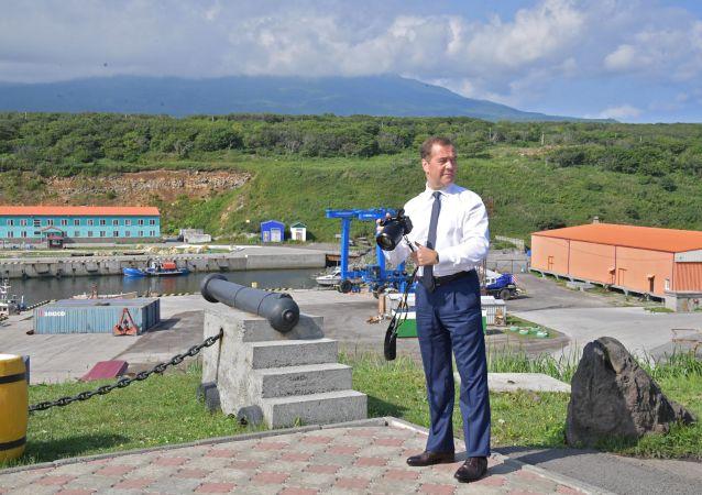俄總理責成有關部門促進千島群島商業發展