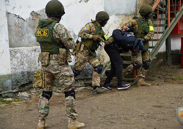 俄羅斯去年共逮捕40余名恐怖分子頭目,241名普通恐怖分子和606名恐怖分子幫凶