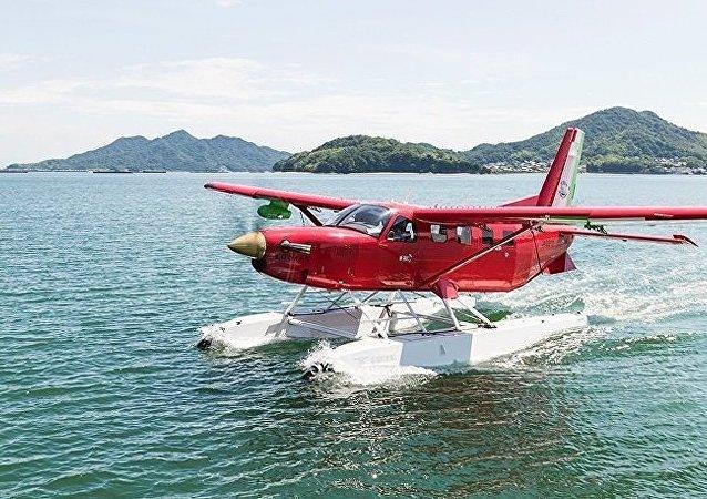 法國一架撲滅森林大火的兩棲飛機墜毀