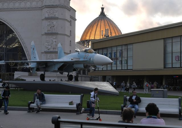 莫斯科國民經濟成就展覽館(展覽館的航空航天中心)
