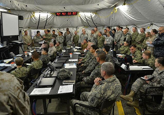 韓美兩軍協商上半年聯合指揮所演習的實施方案