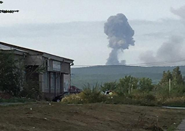 俄克拉斯諾亞爾斯克邊疆區因軍火庫爆炸疏散近千人
