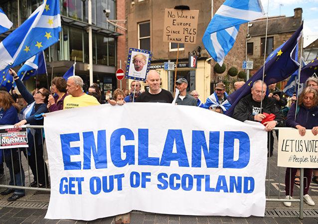 民調:多數蘇格蘭民眾支持脫離英國