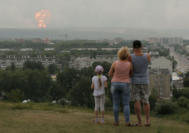 在克拉斯諾達爾邊疆區的部隊駐地內發生爆炸 (視頻、圖片)