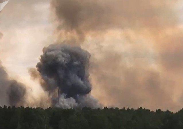 俄克拉斯諾亞爾斯克邊疆區約1.6萬人因彈藥庫爆炸而疏散