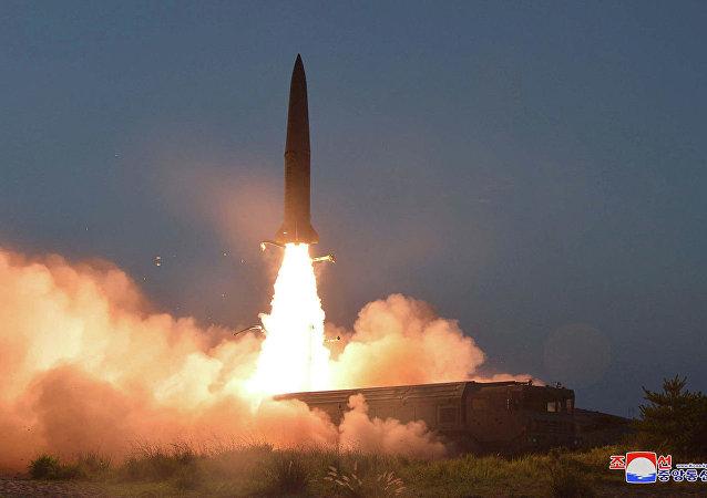韓國認為朝鮮試射短程彈道導彈