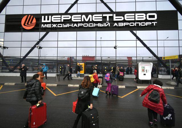 謝列梅捷沃機場為俄中恢復通航做好準備