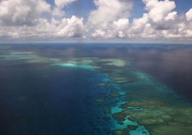 Спорные острова Спратли в Южно-Китайском море