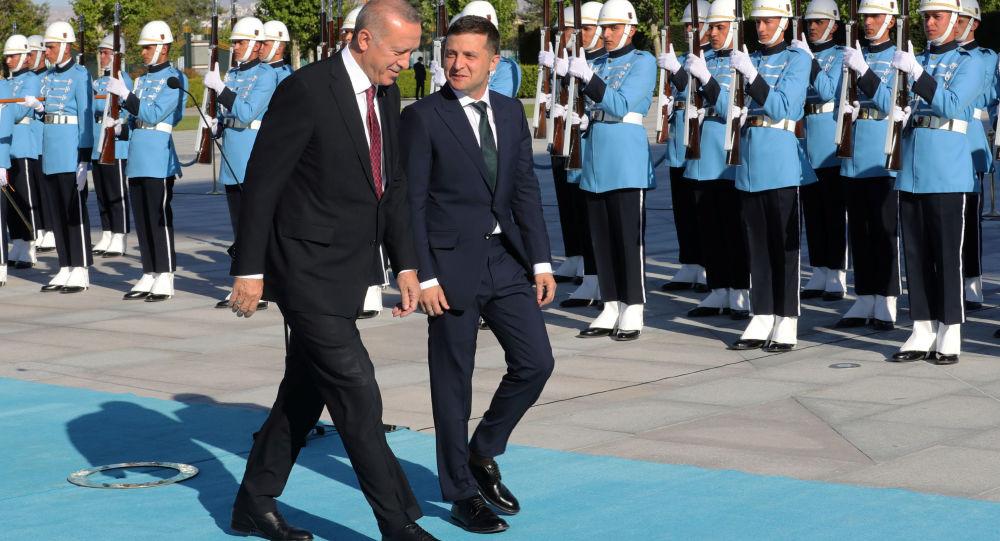 土耳其總統表示,他與烏克蘭總統澤林斯基就烏東局勢交換了意見。他相信,能夠通過政治途徑解決這一危機。