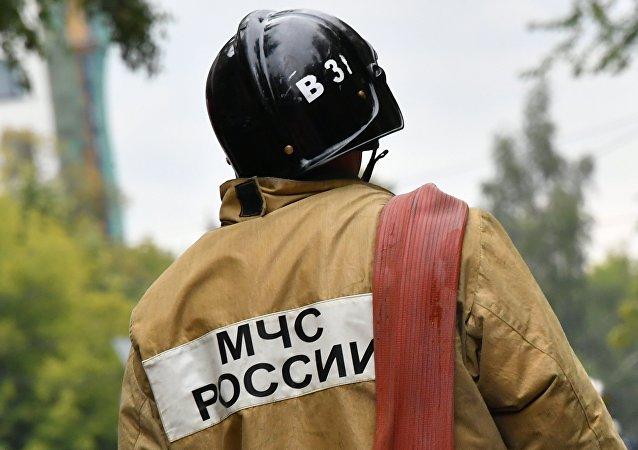俄羅斯緊急情況部人員