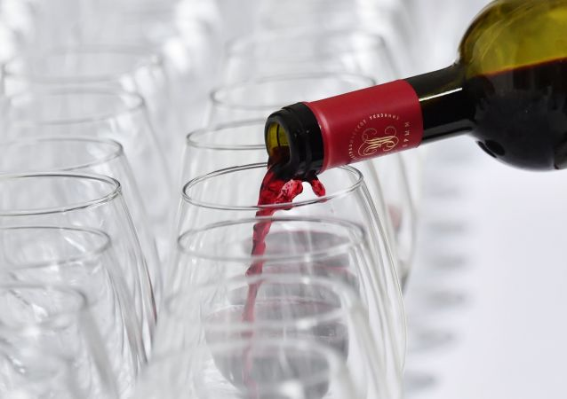 俄羅斯葡萄酒參加上海國際葡萄酒展覽會