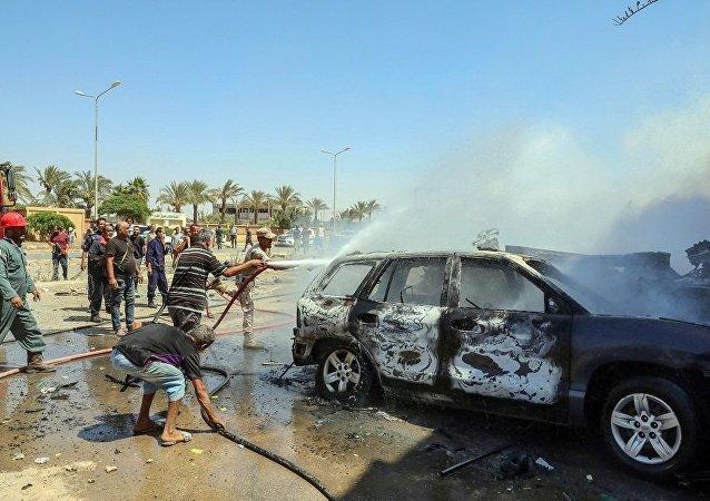 班加西汽車炸彈事件遇難的聯合國職員增至3人