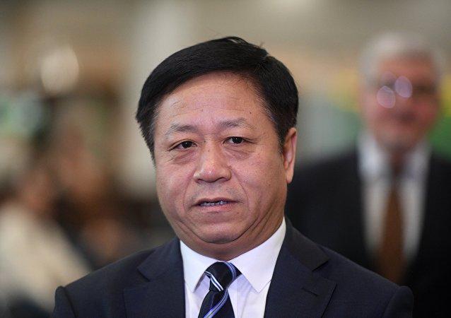 中國新任駐俄羅斯聯邦特命全權大使張漢暉