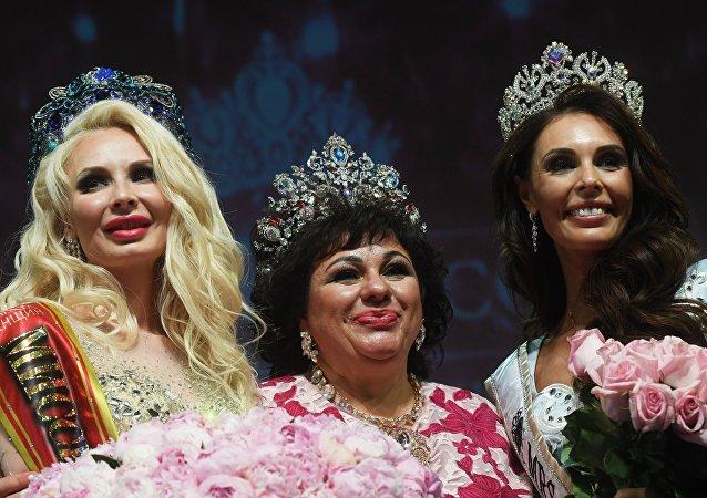 俄羅斯選手贏得「環球夫人」大賽