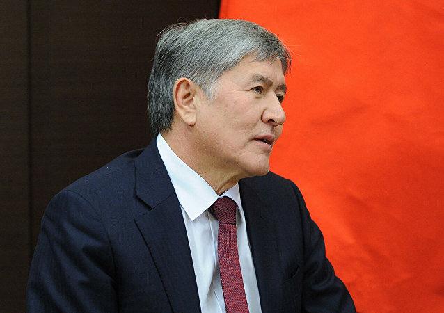 前總統阿坦巴耶夫