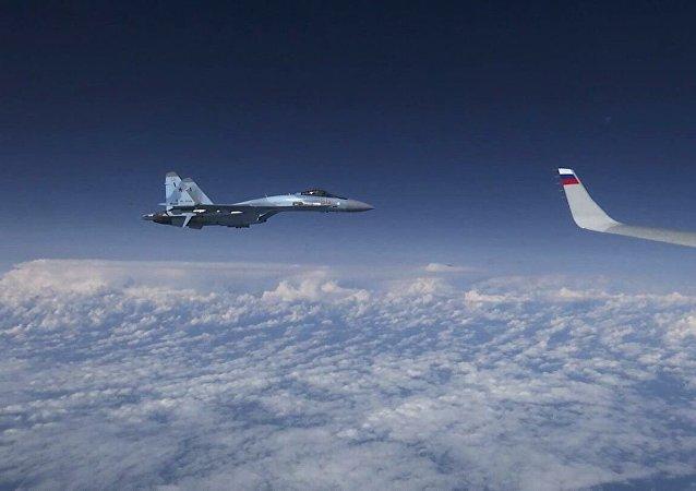 接近紹伊古飛機的北約戰鬥機屬於西班牙