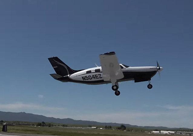 美國飛機製造商展示全球最大環保型飛機