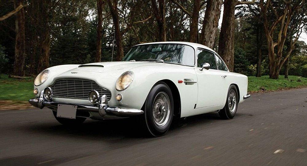 詹姆士∙邦德的車在美國拍賣會上被競拍640萬美元