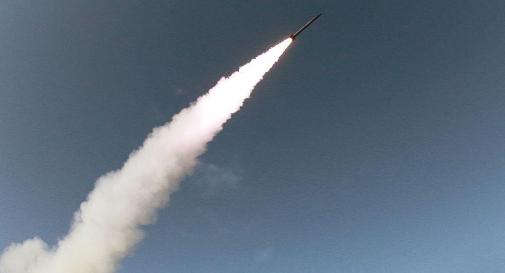 朝鮮再次發射導彈