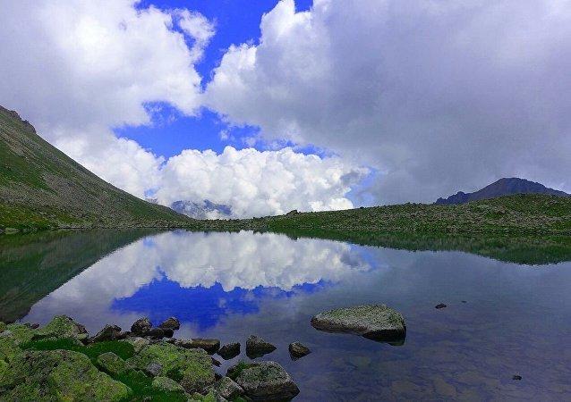 高加索自然保護區發現一個不知名的湖泊