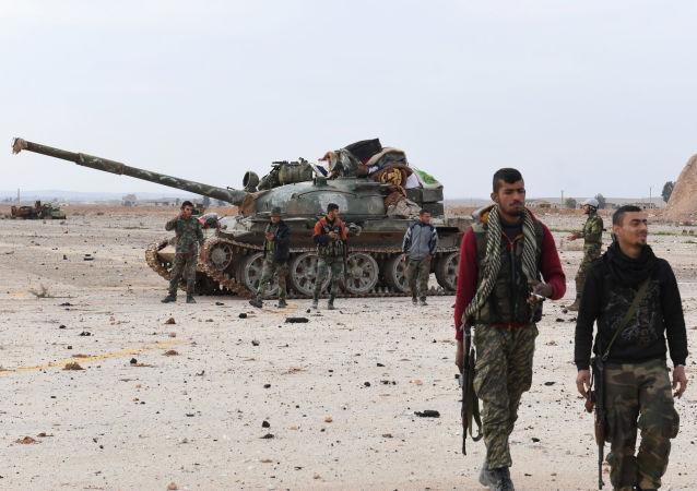 敘政府軍(資料圖片)