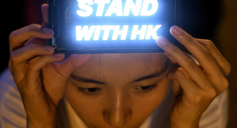 香港,2019年8月16日