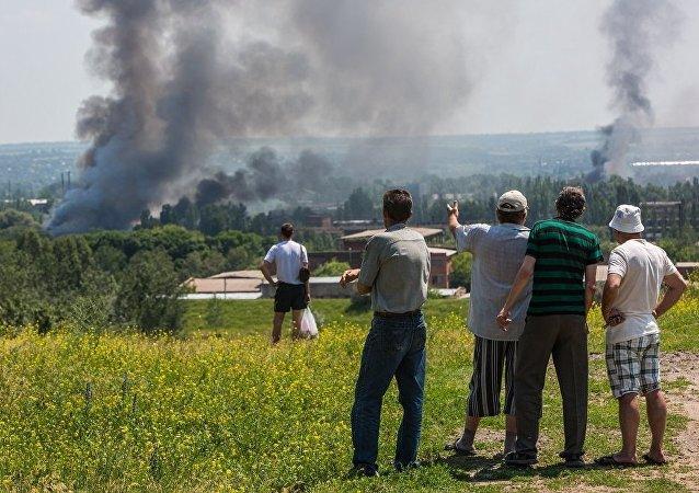 基輔稱聯絡小組一致同意在頓巴斯建立4個部隊脫離接觸區
