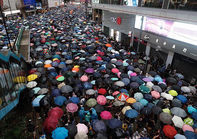 中國國台辦:正告民進黨當局停止破壞香港特區的法治