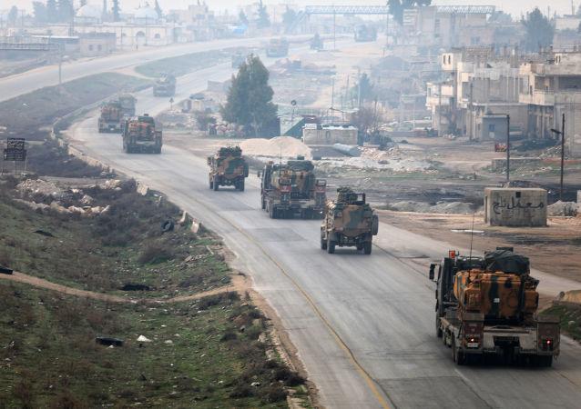 土耳其軍隊在敘利亞伊德利卜