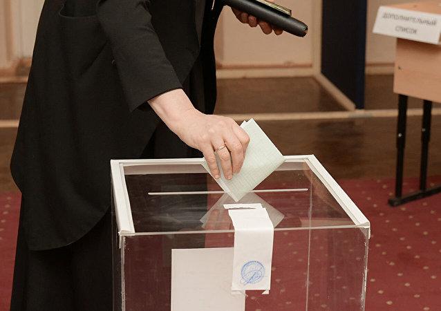 首次有德國和中國觀察員監督阿布哈茲總統選舉