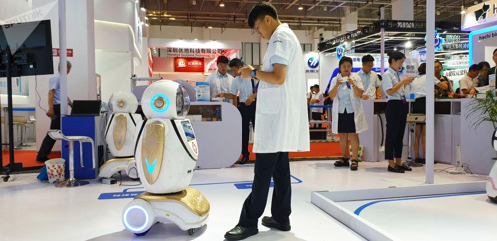 2019世界機器人大會上的展品。